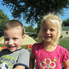 Wyatt Jeffers and Isabel Berryman enjoy the last sunny days of summer.<br /> <br /> Photographer's Name: Brian  Fox<br /> Photographer's City and State: Anderson, Ind.