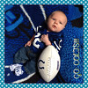 Brennan...cutest little Colts fan. <br /> <br /> Photographer's Name: Julie McCord <br /> Photographer's City and State: Anderson , Ind.