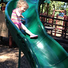Ella Stoops loves the slides at Shadyside Park. Her grandma takes her there to play on nice days.<br /> <br /> Photographer's Name: Kathy Stoops<br /> Photographer's City and State: Anderson, Ind.
