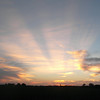 A beautiful August sunset in Madison County.<br /> <br /> Photographer's Name: Harry Kirchenbauer<br /> Photographer's City and State: Anderson, Ind.