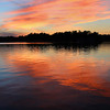 Sunset over Lake James at Pokagon State Park.<br /> <br /> Photographer's Name: Jerry Byard<br /> Photographer's City and State: Anderson, Ind.