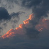 Saturday night sunset clouds.<br /> <br /> Photographer's Name: Harry Van Noy<br /> Photographer's City and State: Lafayette Township, Ind.