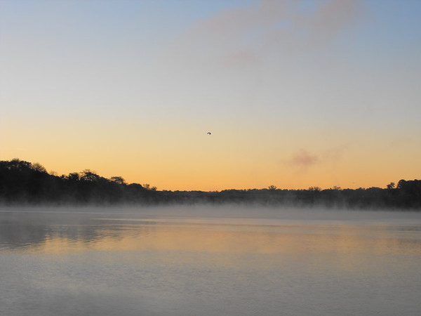 Sunrise on Lake Shafer.<br /> <br /> Photographer's Name: J.R. Rosencrans<br /> Photographer's City and State: Alexandria, Ind.