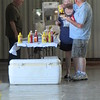 Labor Day picnic...I'd be watching the mustard dropping.<br /> <br /> Photographer's Name: Harry Van Noy<br /> Photographer's City and State: Lafayette Township, Ind.