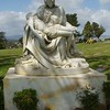 Michelangelo's Pieta near L. Frank Baum's grave, Forest Lawn Memorial Park, Los Angeles.<br /> <br /> Photographer's Name: Jack D. Reynolds<br /> Photographer's City and State: Anderson, Ind.