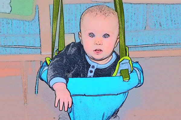 Baby Deacon<br /> <br /> Photographer's Name: Linda Riedel Ellis<br /> Photographer's City and State: Daleville, Ind.