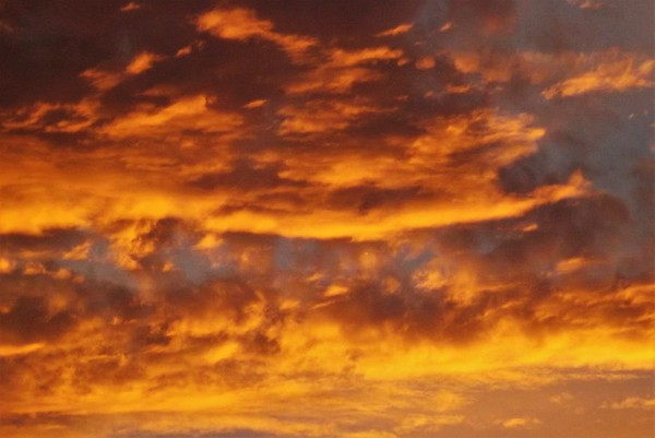 Morning sky in Richland Township.<br /> <br /> Photographer's Name: J.R. Rosencrans<br /> Photographer's City and State: Alexandria, Ind.