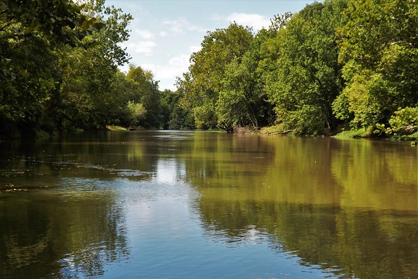 Tippecanoe River nice and quiet.<br /> <br /> Photographer's Name: J.R. Rosencrans<br /> Photographer's City and State: Alexandria, Ind.