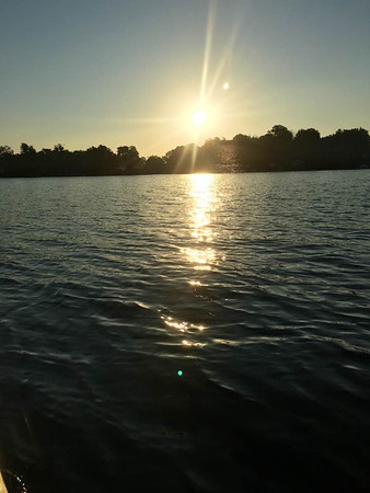 Morning sun on Lake Shafer.<br /> <br /> Photographer's Name: J.R. Rosencrans<br /> Photographer's City and State: Alexandria, Ind.