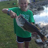 Katie Gray with a 4.9 pounder in Fishers, Ind.<br /> <br /> Photographer's Name: J.R. Rosencrans<br /> Photographer's City and State: Alexandria, Ind.