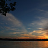 Full sky view of the sun set over Lake James at Pokagon State Park.<br /> <br /> Photographer's Name: Jerry Byard<br /> Photographer's City and State: Anderson, Ind.