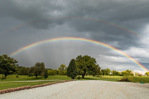 Full rainbow this week<br /> <br /> Photographer's Name: Terry Lynn Ayers<br /> Photographer's City and State: Anderson, Ind.