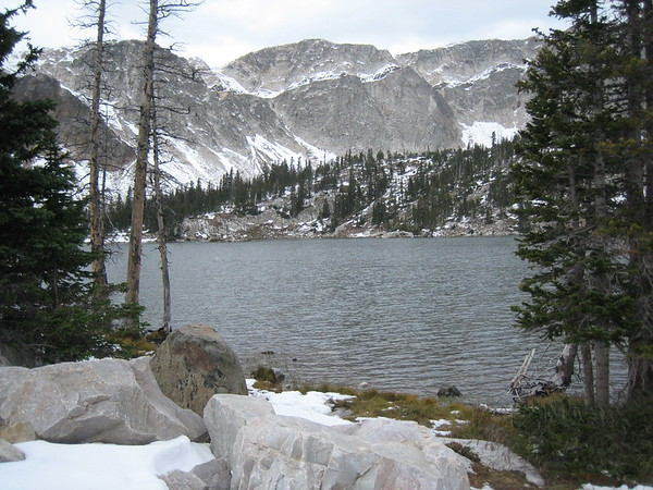 Lake near Snowy Range Pass, Wyoming on a recent trip<br /> <br /> Photographer's Name: Rex Rice<br /> Photographer's City and State: Middletown, Ind.