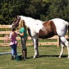Learning the ropes at horse school in Richland Township.<br /> <br /> Photographer's Name: J.R. Rosencrans<br /> Photographer's City and State: Alexandria, Ind.
