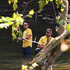 The Indiana Department of Fisheries was promoting fishing along White River and stopped at Mounds Park.<br /> <br /> Photographer's Name: Jerry Byard<br /> Photographer's City and State: Anderson, Ind.