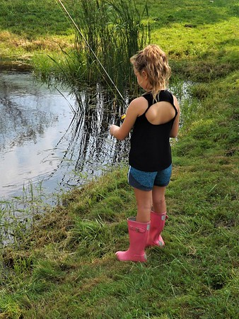 Fall fishing in Richland Township.<br /> <br /> Photographer's Name: J.R. Rosencrans<br /> Photographer's City and State: Alexandria, Ind.