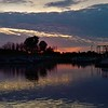 Crack of dawn at Morse Reservoir.<br /> <br /> Photographer's Name: J.R. Rosencrans<br /> Photographer's City and State: Alexandria, Ind.