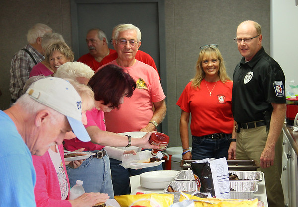 The East Side Crime watch group had a cookout recently and it was well attended by folks concerned for their neighborhoods.<br /> <br /> Photographer's Name: Jerry Byard<br /> Photographer's City and State: Anderson, Ind.