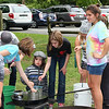 Children at Mounds Park enjoying the candle making activity on Saturday.<br /> <br /> Photographer's Name: Jerry Byard<br /> Photographer's City and State: Anderson, Ind.