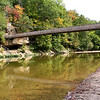 The suspension bridge at Turkey Run State Park.<br /> <br /> Photographer's Name: Jerry Byard<br /> Photographer's City and State: Anderson, Ind.