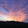 Sunrise over the PHHS football field.<br /> <br /> Photographer's Name: Allyson Gordon<br /> Photographer's City and State: Pendleton, Ind.