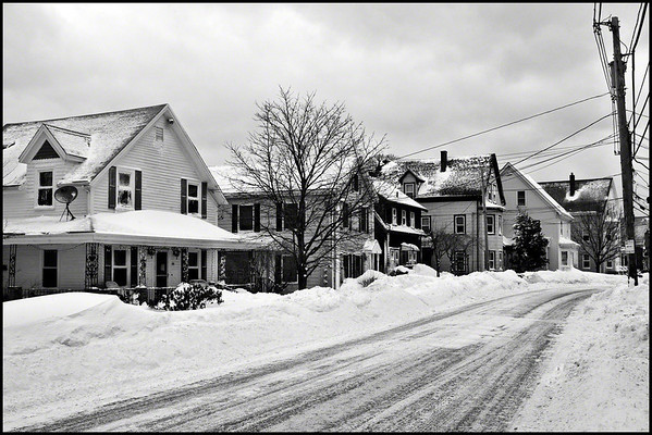 Blizzard 2013 - Nemo Aftermath - Bass Avenue <br /> <br /> Photographer's Name: Jay Smiledge<br /> Photographer's City and State: Gloucester, MA