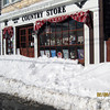 Photo courtesy of Leslie Asare/Gloucester Daily Times. Leslie Asare's view of the aftermath of the snowstorm in Bearskin Neck, Rockport.