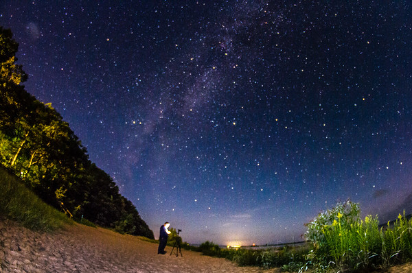 Photographing the Milkyway<br /> <br /> Photographer's Name: Peggy Sue  Zinn<br /> Photographer's City and State: traverse city, MI