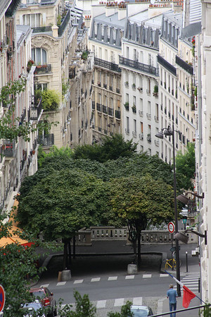 A street in Montmartre, France<br /> <br /> Photographer's Name: Michell Clishe<br /> Photographer's City and State: Traverse City, MI