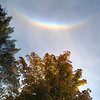"<b>Submitted By:</b> William (Bill) Steeves <b>From:</b> Traverse City <b>Description:</b> Attached is a photo of a ""Smiley Rainbow."" It is upside down, something I have never seen before. I took this photo at the southern end of Torch Lake on 16 October 2012 at around 1630/4:30 PM. Enjoy. Bill"