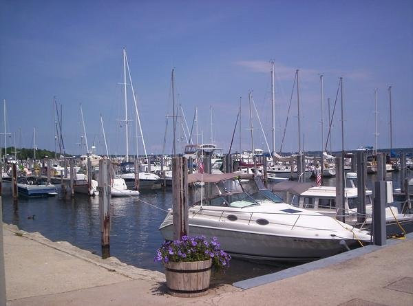 <b>Submitted By:</b> Michelle Lee Luman <b>From:</b> Traverse City MI <b>Description:</b> Boats!!! Miles and miles of boats. I fell in love with this area and went crazy taking pictures one day. This is my favorite one! This picture was taken right here in Traverse City!