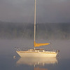 <b>Submitted By:</b> Kim Seymour <b>From:</b> Bellaire <b>Description:</b> Early Morning Sailboat photo taken on Lake Bellaire in July 2009