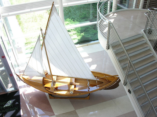 <b>Submitted By:</b> Tim Bell <b>From:</b> Traverse City, MI <b>Description:</b> Sail Boat, Lobby, Maritime Academy, July, 2010