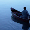 This photograph was taken on Torch Lake over in Antrim County.  It is my <br /> brother on a canoe trip.<br /> Eric Larson