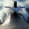 <b>Submitted By:</b> Mark Width <b>From:</b> Rapid City <b>Description:</b> Although this picture is NOT in Michigan.... The driver of this boat is a Michigan resident.  This is the USS Louisville, SSN-724 fast attack submarine currently on deployment somewhere in the Pacific.