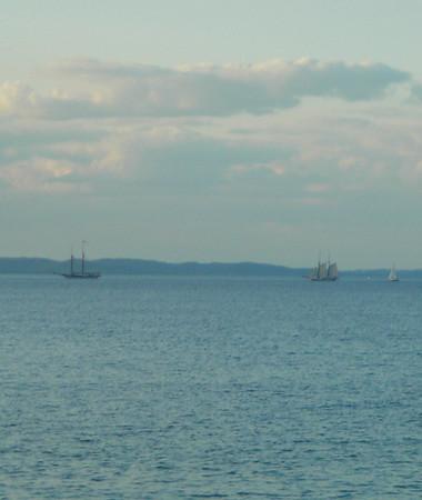 <b>Submitted By:</b> Christy Crawford <b>From:</b> Lake Ann <b>Description:</b> Tall Ships on Grand Traverse Bay.