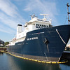 """The """"State of Michigan"""" training vessel at the Great Lakes Maritime Academy.<br />  <br /> Ben Roberts<br /> Charlotte North Carolina"""
