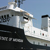 "<b>Submitted By:</b> Tim Bell <b>From:</b> Traverse City, MI <b>Description:</b> The Ship ""State of Michigan"" at Maritime Academy, July, 2010."