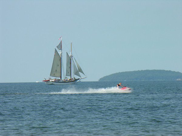 <b>Submitted By:</b> Tim Bell <b>From:</b> Traverse City, MI <b>Description:</b> West Bay, July, 2010