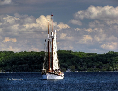 Submitted By: Paul James Nepote From: Traverse City, Michigan Description: Manitou on West Grand Traverse Bay