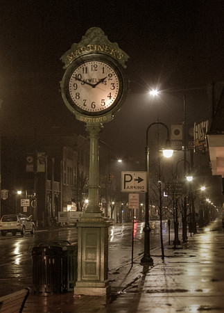 Foggy Night in Traverse<br /> <br /> Photographer's Name: Peggy Sue  ZINN<br /> Photographer's City and State: Traverse City, MI