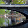 <b>Submitted By:</b> Susan Niles <b>From:</b> Traverse City, MI <b>Description:</b> Reflections under a downtown bridge.