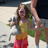 <b>Submitted By:</b> Rodger Shomo <b>From:</b> Traverse City <b>Description:</b> I saw this little girl walking with her mom on Union and had to ask the name of her pet elephant...Comfy!