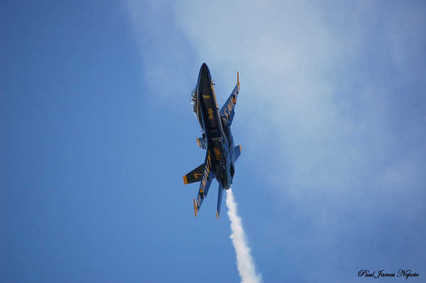 July 4th, 2008<br /> Blue Angel Over National Cherry Festival<br /> Nikon D50<br /> <br /> Paul J Nepote<br /> Traverse City, Michigan