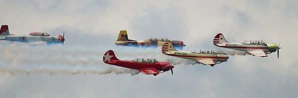 <b>Submitted By:</b> Jason Lome <b>From:</b> Acme <b>Description:</b> North East Raiders over West Bay during the Air Show at the Cherry Festival