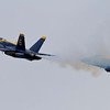 <b>Submitted By:</b> Peggy Zinn <b>From:</b> Traverse City <b>Description:</b> Blue Angels going as slow as they will go