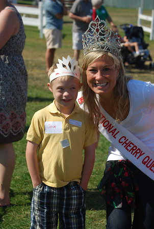 "<span style=""display:none"">Email: jacklyon@chartermi.net</span> <b>Submitted By:</b> Jack Lyon <b>From:</b> Traverse City <b>Description:</b> A pic of my Grandson (Jack Trowbridge) with National Cherry Queen on ""Special Kids Day"" at the Cherry Festival"