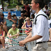 <b>Submitted By:</b> Richard Smith <b>From:</b> Traverse City <b>Description:</b> Trojan / Titan Drum Line Cherry Royal Parade 2011
