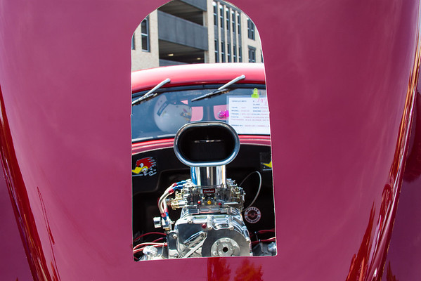 Peek at Power at the car show i T.C.<br /> <br /> Photographer's Name: Pam Murphy<br /> Photographer's City and State: Traverse City, MI