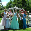 <b>Submitted By:</b> Diane Budzynowski <b>From:</b> Traverse City <b>Description:</b> Cassie Meze, of Roseville, Mi with the Cherry queen and her court just before the Princess Tea on Monday July 6th
